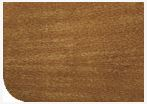Asiento inodoro madera nogal claro